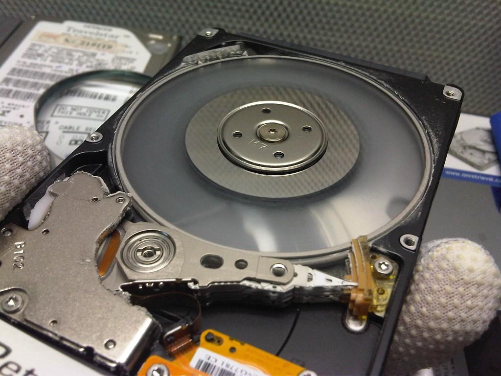 OnRetrieval Heads crash en dico SAMSUNG de 500GB