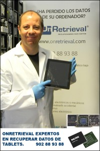 OnRetrieval-Recuperar-datos-tablets