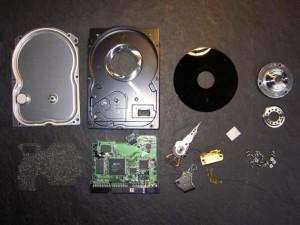 disco duro desmontado - Onretrieval