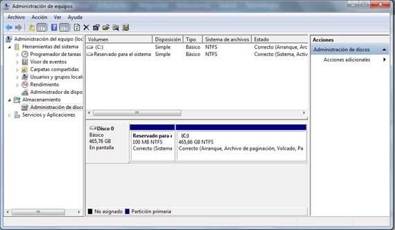 Cómo agregar espacio no asignado a una partición en Windows