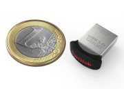 Product: 128GB SanDisk Ultra Fit USB 3.0 Flash Drive, with euro