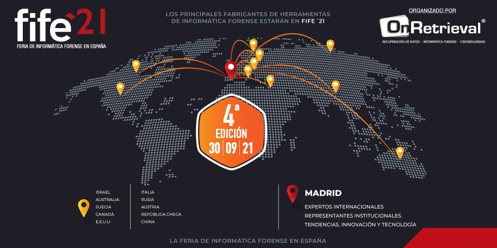 Feria de Informática Forense en España 2021 (Fife´21)