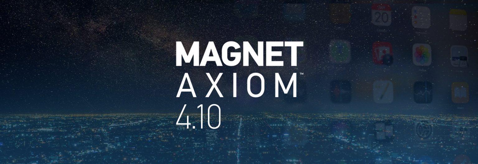 Artefactos nuevos y actualizados en Magnet AXIOM y AXIOM Cyber 4.10