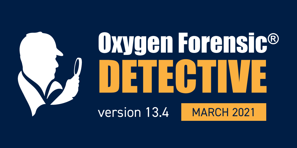 Oxygen Forensic Detective 13.4 ya disponible