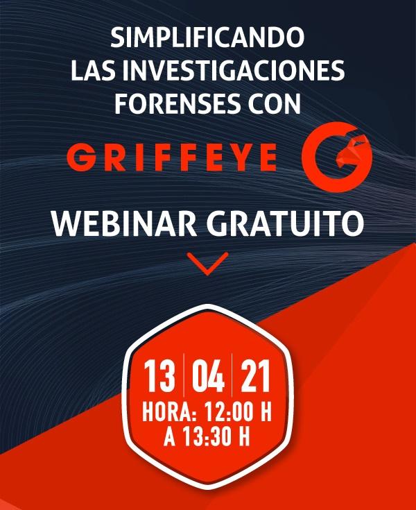 Webinar gratuito y en español de Griffeye
