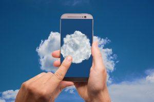Como la nube protege tus datos. Imagen de Gerd Altmann en Pixabay