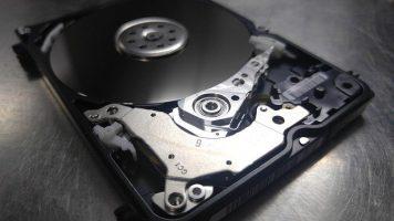 Como es el interior de un disco duro. para la recuperación de datos discos duros.