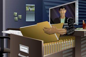 La ciberseguridad evita la pérdida de datos.