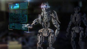Proteger tu empresa de la pérdida de datos. robot-2301646_640. Imagen de Computerizer en Pixabay